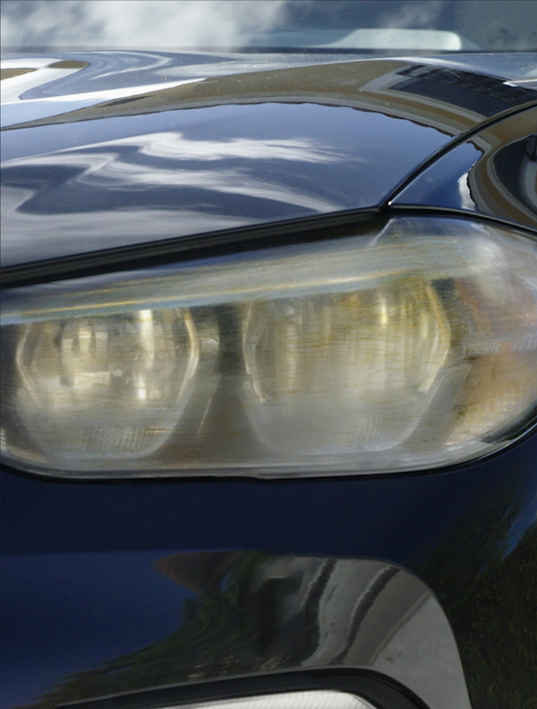headlights before